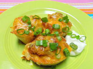 Jalapeno Popper Chicken Stuffed Shells Recipe