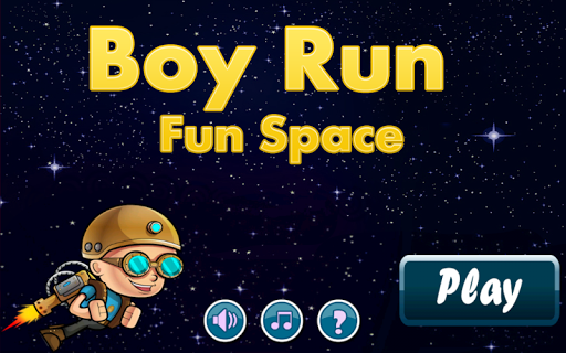 Boy Run Fun Space