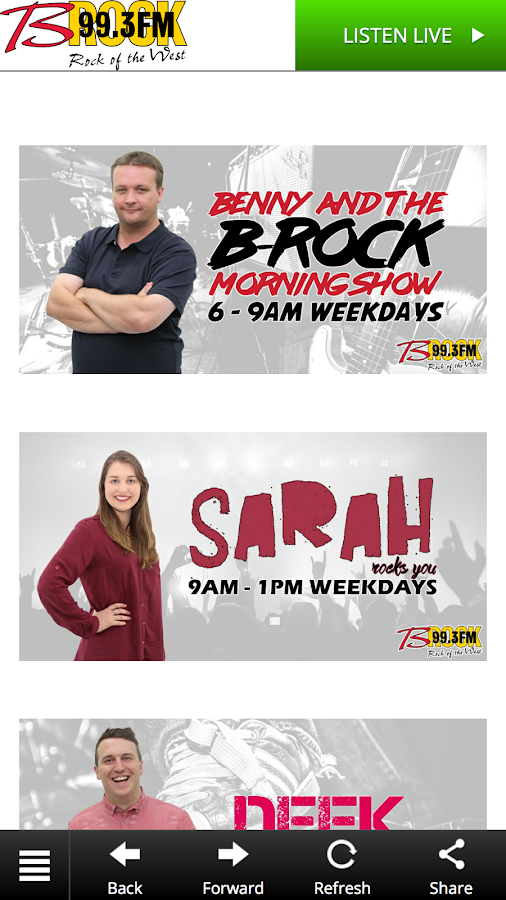 B-Rock FM- screenshot