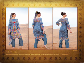 Photo: CODE: 1061 -FABRIC-TOP COTTON-BOTTOM COTTON-DUPATTA CHIFFON . Price : USD 31