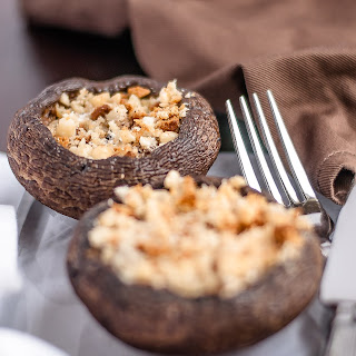 PORTOBELLO STUFFED MUSHROOMS Recipe