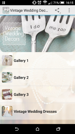 Vintage Wedding Decors