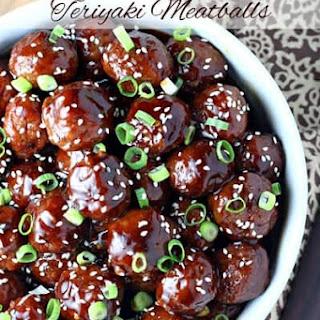 Slow Cooker Teriyaki Meatballs.
