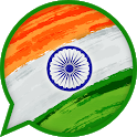 Indian messenger - high quality calls chat emojis icon