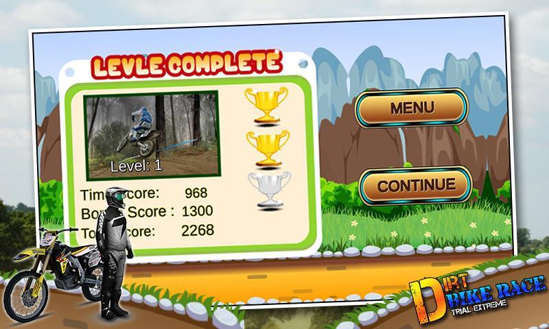 Скриншот Xtreme Dirt Bike Racing