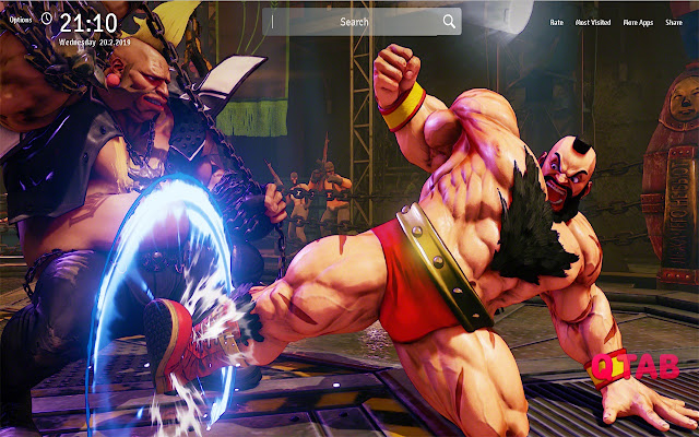 Zangief Wallpapers Theme Game New Tab