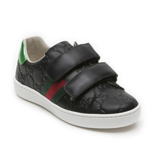 Primary image of Gucci GG Leather Trainer Kid