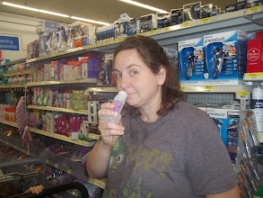 """Photo: No odor, I think that's a good thing.  The label says it's for men or women.  Mr. Crum says, """"it's pink."""""""