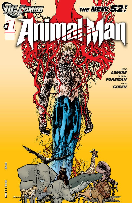 The New 52!: Animal Man (2011) - complete