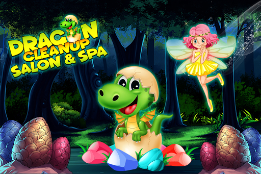Dragon Cleanup Salon & Spa Game: Makeup & Makeover 1.0 screenshots 1