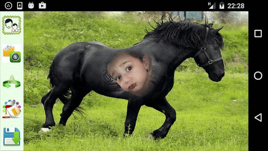 Horse Look Photo Frames - náhled