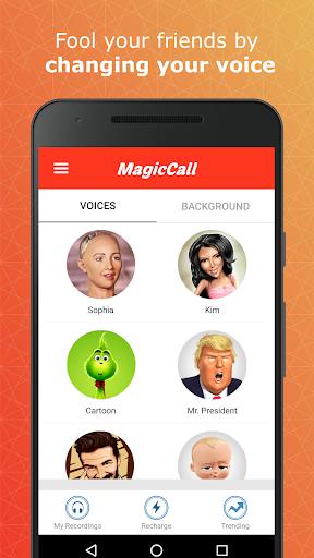 MagicCall u2013 Prank Call &Voice Changer Free Call 1.3.29 screenshots 1
