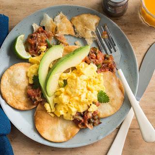 Crispy Breakfast Tortilla Stacks