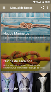 Manual de Nudos Screenshot