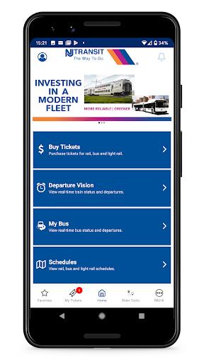 NJ TRANSIT Mobile App Apk 1