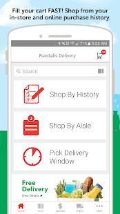 Randalls Online Shopping - náhled