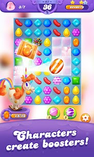 Candy Crush Friends Saga MOD (Unlimited lives/Moves) 4
