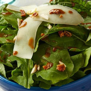 Roka Salad with Fig-Balsamic Dressing