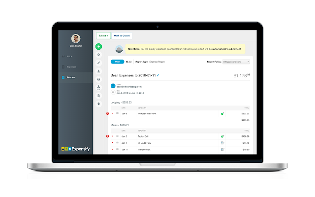 expensify g suite marketplace