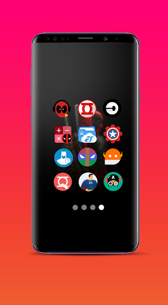 Supercons - The Superhero Icon Pack Screenshot Image
