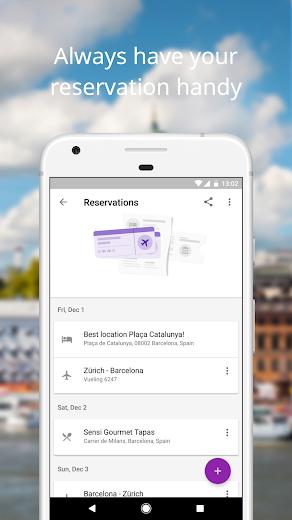Screenshot 2 for Google Flights's Android app'
