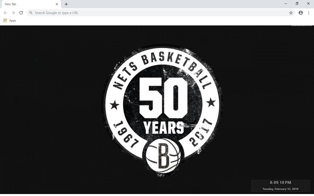 Brooklyn Nets New Tab Wallpapers Collection