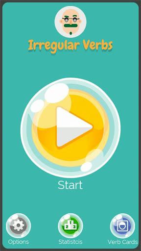 Irregular Verbs English Game 1.321 screenshots 1