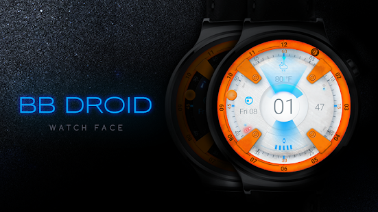 BB Droid Watch Face Screenshot