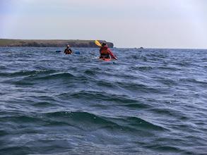 Photo: and heading towards Linney Head