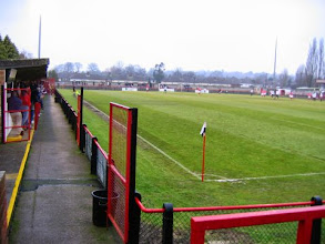 Photo: 14/01/06 v Gravesend & Northfleet (FA Trophy Round 2) 3-1 - contributed by Leon Gladwell