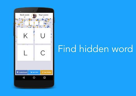 Word Finder Game (Offline) - náhled