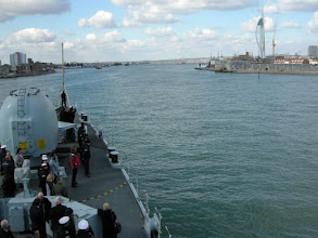 Photo: Re-entering Portsmouth