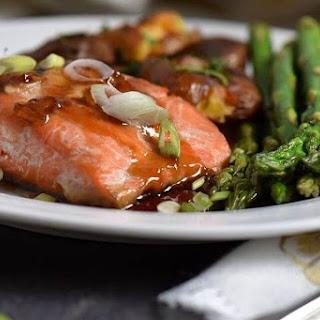 Easy Soy Maple Glazed Salmon | No fishy taste!.