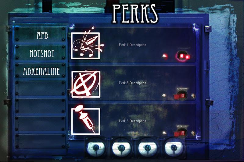 Photo: perks screen of an ios game