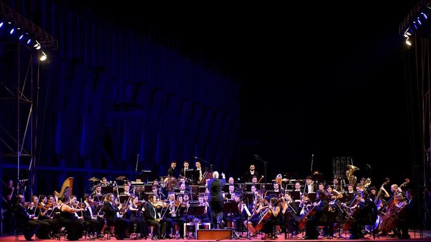 Imagen de archivo de uno de los conciertos de la OCAL.