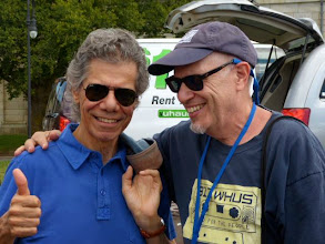 Photo: Ken and Chick Corea (photo by Claire Laster)