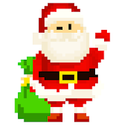 Christmas Pixel Art: Sandbox Paint,Color By Number