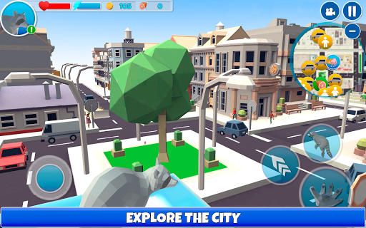 Raccoon Adventure: City Simulator 3D  screenshots 1