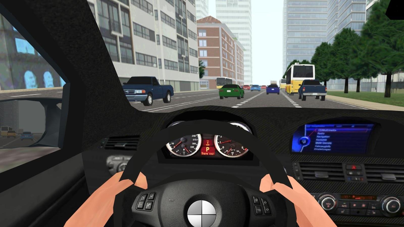 Car in Driving– Capture d'écran