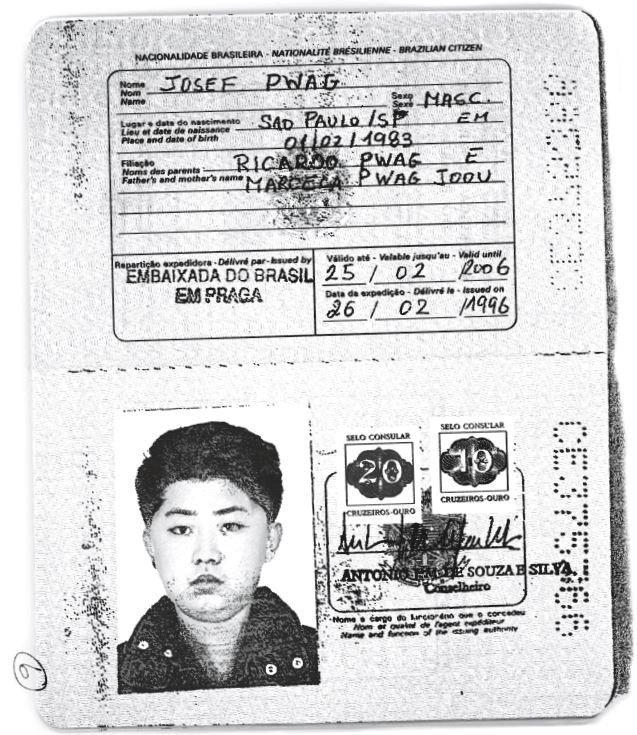 kim jong un passport