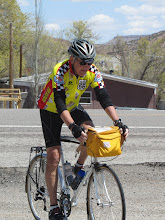 Photo: Jim arrives at the third rest stop