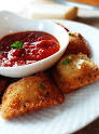 Breaded Three Cheese Ravioli