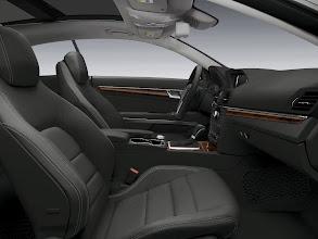 Photo: Classic Black E-Coupe interior appointment