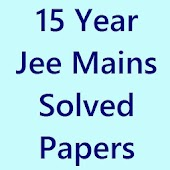 Solved 15 Years Jee main Paper