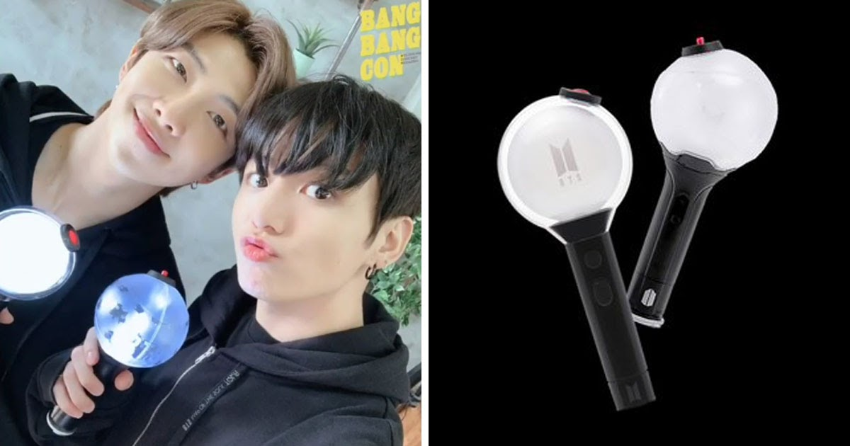 Bts Releases Map Of The Soul Lightstick In Time For Bang Bang Con