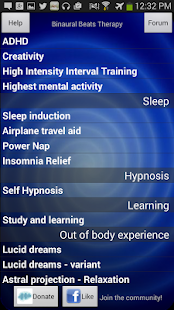 Binaural Beats Therapy- screenshot thumbnail