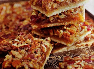 Cookie Challenge: Pecan Bars With Cherries Recipe