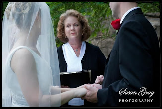 Photo: Rock Quarry Garden - Greenville, SC  Wedding Officiant, Marriage Minister, Notary, Justice Peace - Brenda Owen www.WeddingWoman.net  Photo courtesy Susan Gray -