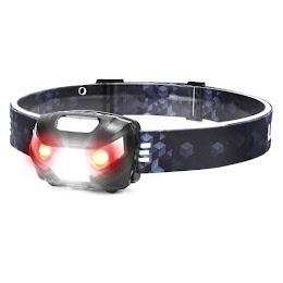 Lanterna frontala cu LED, curea elastica si reglabila