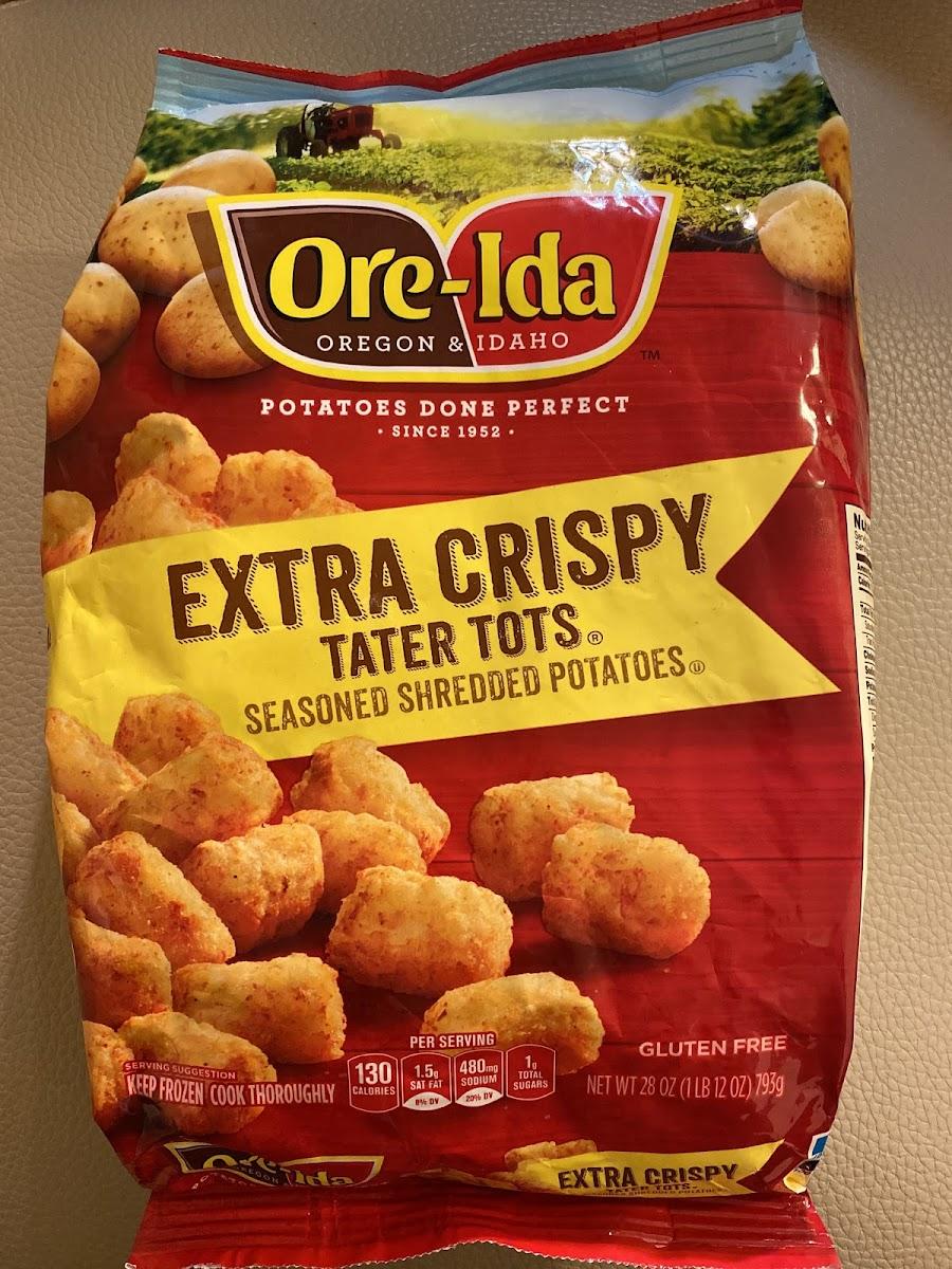 Extra Crispy Tater Tots